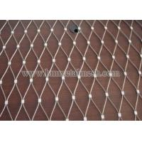Quality Low Price Ferruled Stainless Steel  Wire Rope  Mesh For Aviary Bird Zoo Mesh wholesale