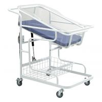 Buy cheap Metal Medical Infants Hospital Baby Crib Beds With Luxurious Castors from wholesalers