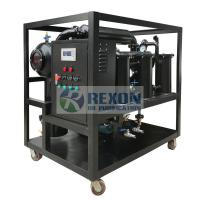 China Mobile Transformer Oil Purification Plant / Transformer Oil Filtration System on sale