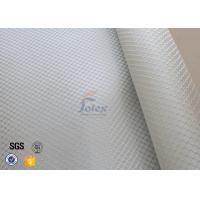 Quality Satin Weave 220gsm Silver Coated Fabric Fiberglass Cloth Thermal Insulation wholesale