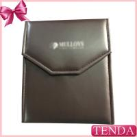 Quality Make Brown Gold Black White Red Cotton Fabric PU Leather Jewellry Jewelry Pouches Holoder Rolls wholesale