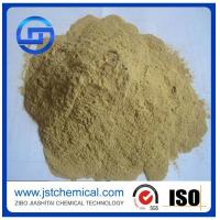 China Chemicals for industrial production lignin yellow powder as fertilizer calcium lignosulfonate on sale