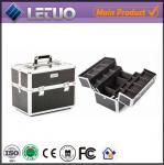 Quality LT-MC3010 Classic Black Croc Beauty Case makeup cosmetic makeup bags wholesale