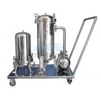 Quality Ss304/Ss316 Cartridge Filter Housing And Bag Filter Housing Bag Filter With Reusable Bags Housing wholesale