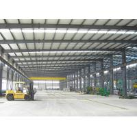 China Heavy Duty Steel Structure Workshop With Overhead Crane / Steel Frame Workshop Construction on sale