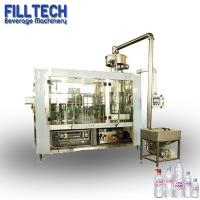 China SUS304 Sliver 6000 bph mineral pure water filling packing machine for small pet bottle on sale