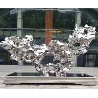 Quality Stainless Steel Ss Sculpture Abstract Outdoor Decor Statues And Metal Yard Ornaments wholesale