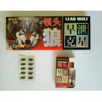 Quality Lead Wolf Male Sex Pill For Male Enhancement / Natural Sex Capsule No Side Effect wholesale