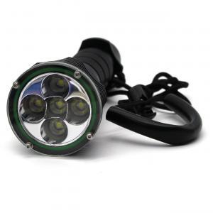 Quality 5x XM-L T6 LED 5000Lm 100M Underwater Diving Torch Scuba Dive Flashlight wholesale