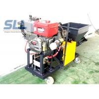 Quality Color Changeable Spraying And Plastering Machines High Efficiency 12HP 5MPa wholesale
