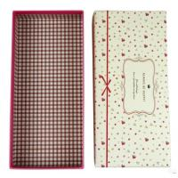 Cheap Delicate gift boxes for packing scarves for sale