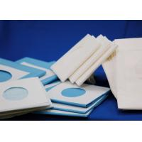 China Sterile Disposable Surgical Drapes Medical Sheets with Round / Rectangle Hole on sale