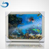 Quality Lenticular 3D Pictures Posters Lenticular Image Printing For Decration wholesale