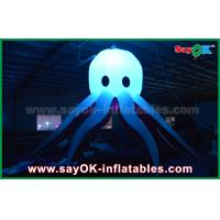 Quality Different Color Inflatable Lighting Decoration Inflatable Octopus With Led Light wholesale