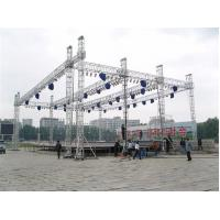 China Custom Length Aluminium Trade Show Truss Display Stand Truss For Exhibition Show on sale