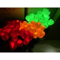 Cheap Outdoor ROSE flower LED Fairy String Lights Christmas Party Wedding Holiday for sale