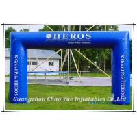 Quality Customized Lightweight Fabric Advertising Inflatable Arches for Event(CY-M2124) wholesale