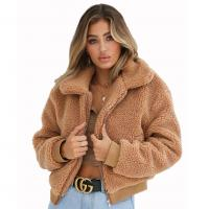 Quality Wholesale 2018 fashion sexy women turn-down collar winter warm woolen coats (C18723) wholesale