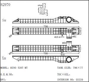 China Auto riator/Plastic Tank 82970 on sale