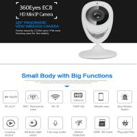 Quality EC8 HD 720P Mini Wifi IP Camera Wireless P2P Baby Monitor Network Remote CCTV Surveillance DVR Camera Playback on App wholesale
