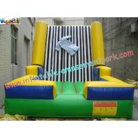 Quality Velcro Walls,Sticky Games For Childrens Inflatable Sports Games 4L x 3.5W x 2.5H Meter wholesale
