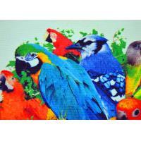 Quality Bright Color Inkjet Cotton Canvas Digital Printing Lifelike Active Graphics wholesale