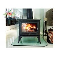Quality Environmental Promotional Free Standing Polished Cast Iron Fireplace 12KW wholesale