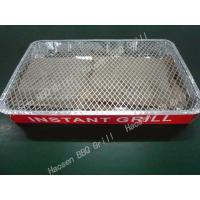 professional production one time barbecue grill