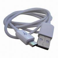 Cheap USB 2.0 Cable, USB Male to Micro USB Female, USB to Micro USB Male, Ideal for Data Transfer/Charging for sale