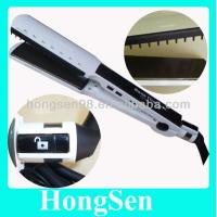 China 2014 Hot selling WET OR DRY intertek heater flat iron hair straightener on sale