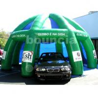 Quality Green Color PVC Tarpaulin Air Sealed Tent For Car Parking wholesale