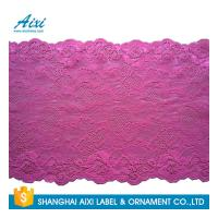 Quality Nylon Stretch Lace Embroidery Lingerie Lace Fabric For Underwear Dress Garments wholesale