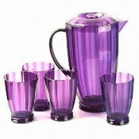 Quality Plastic Water Jug, for Promotional and Gift Purpose, Customized Logos/designs are Accepted wholesale