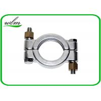 Quality Hygienic High Pressure Pipe Clamps With Automatically Adapt Fastening Forces wholesale