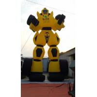 Quality Giant Promotional Item Oxford Fabric Made InflatableTransformers Balloon Bumblebee For Event wholesale