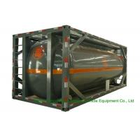 Quality 316 Stainless Steel ISO Tank Container 20 FT For Hazardous Liquids Road transport wholesale