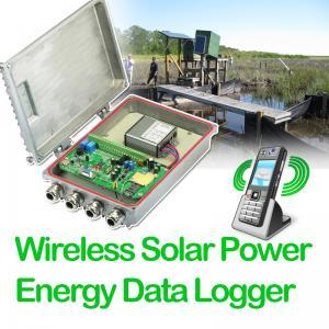 Quality Wireless Solar Power Energy Data Logger wholesale