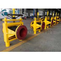 Buy cheap High Strength Open Body Slurry Hose Pinch Valve With Gear Operation from wholesalers