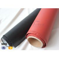 Quality 1400gsm Thermal Insulation High Silica Fabric with Silicone Rubber Coating wholesale