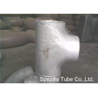 Quality ASTM A403 Stainless Steel Pipe Fittings Schedule 5S 10S 40S Reducing Tee NPS 1/2'' - 24'' wholesale