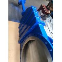 China 20'' 10'' 16'' CL150 WAFER LUG KNIFE GATE VALVE PNEUMATIC SS316 BI-DIRECTIONAL on sale