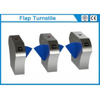 Quality 304 Stainless Steel Flap Barrier Gate Turnstile Security For Ticket Checking wholesale