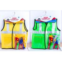 Quality Role Play Children's Play Toys Costume for Pretend Doctor Fireman 4 Styles wholesale