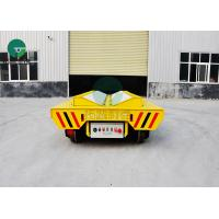 China Heavy Duty Steel Coil Handling Electric Flat Car Battery Powered With E Frame on sale