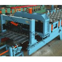 Quality Glazed Roof Sheet Forming Machine Automatic Hydraulic Glazed Tile Roll Forming Machine / Roofing Tile Process Line wholesale