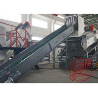 Large Capacity Plastic Recycling Washing Line Pet Bottle Cleaning Production