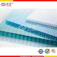 China lowes polycarbonate panel/pc hollow sun panel on sale