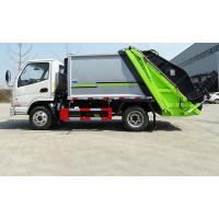 Quality Mini 3 Ton Compactor Small Garbage Truck Euro 3 Engine Power 90-150HP wholesale