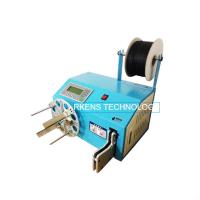 China Tie Cable Wire Coil Binding Machine Max 48 Bind Diameter For AC Power Cord on sale