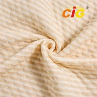 Quality Polyester  with  Cotton Knitted Mattress Textile Cotton Mattress Fabric  260gsm for furniture upholstery fabric wholesale